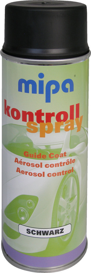 MP Kontroll-Spray  400 ml  schwarz matt